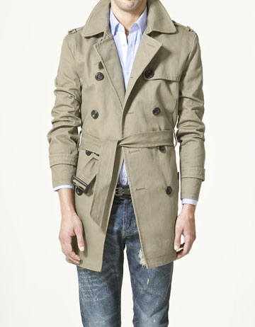 94d75395 Zara Men's Trench Coats | getting it together